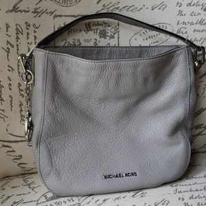 Michael Kors Pebbled Grey Handbag